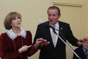 Albina Šiupienienė ir Juozas Dingelis