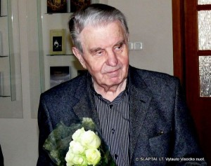 Poetas Justinas Marcinkevičius. Vytauto Visocko nuotr.