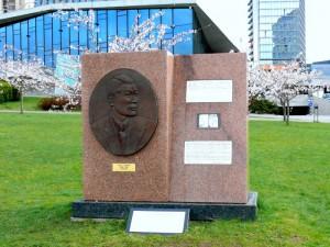 Paminklas Č.Sugiharai - žydų gelbėtojui